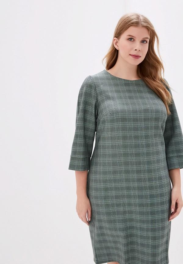 женское платье jp, зеленое