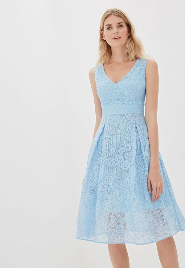 Фото - Женское вечернее платье Vittoria Vicci голубого цвета
