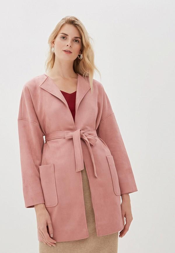 Фото - Женское пальто или плащ Vittoria Vicci розового цвета