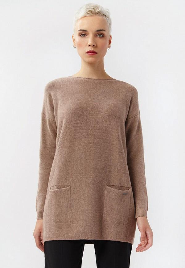 Фото - Женскую тунику Finn Flare коричневого цвета
