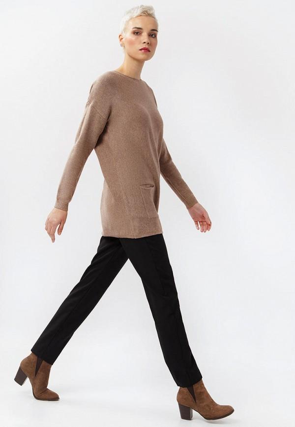 Фото 2 - Женскую тунику Finn Flare коричневого цвета