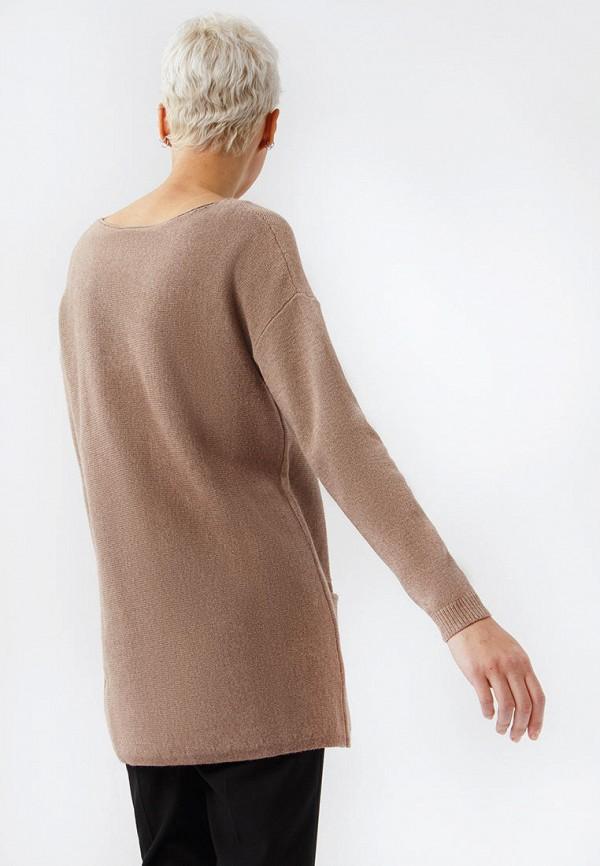 Фото 3 - Женскую тунику Finn Flare коричневого цвета