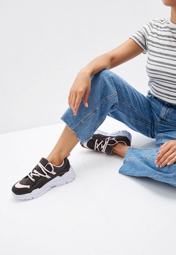 Фото 6 - Женские кроссовки Pierre Cardin серого цвета