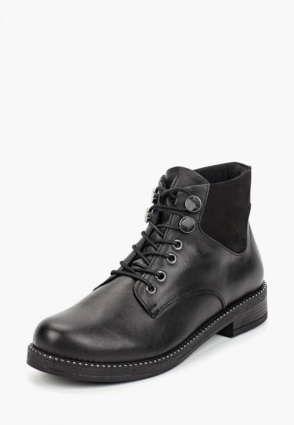 Фото 2 - Женские ботинки и полуботинки Alessio Nesca черного цвета
