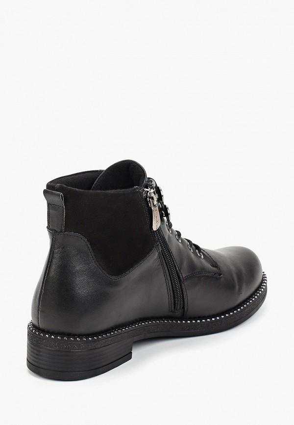Фото 3 - Женские ботинки и полуботинки Alessio Nesca черного цвета