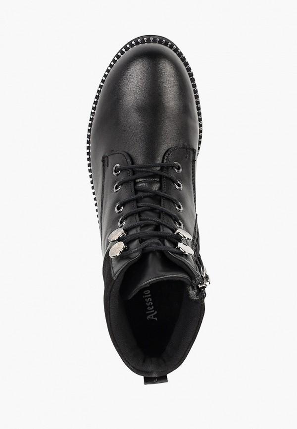 Фото 4 - Женские ботинки и полуботинки Alessio Nesca черного цвета