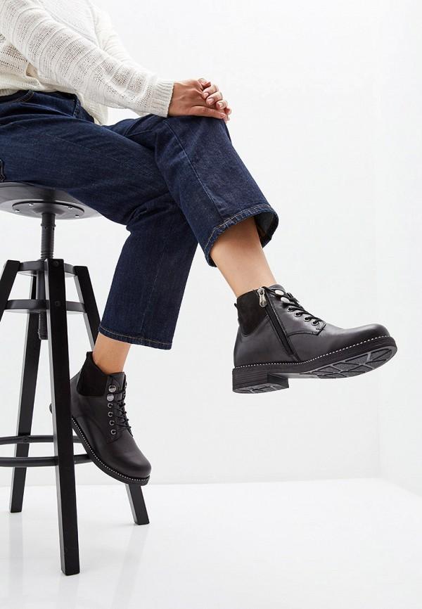 Фото 6 - Женские ботинки и полуботинки Alessio Nesca черного цвета