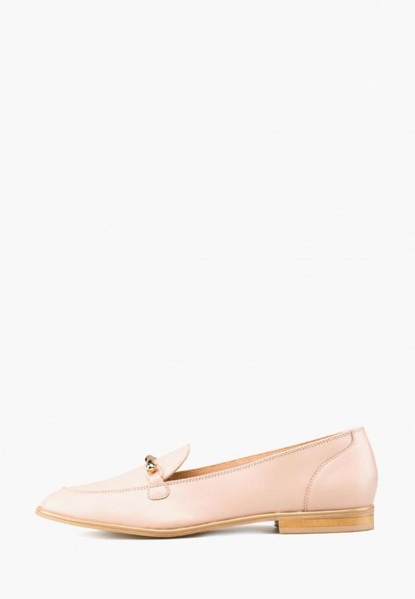 женские лоферы giotto, розовые