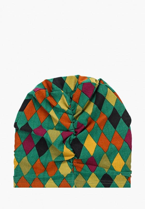 Фото 2 - Женскую шапку Sahera Rahmani разноцветного цвета