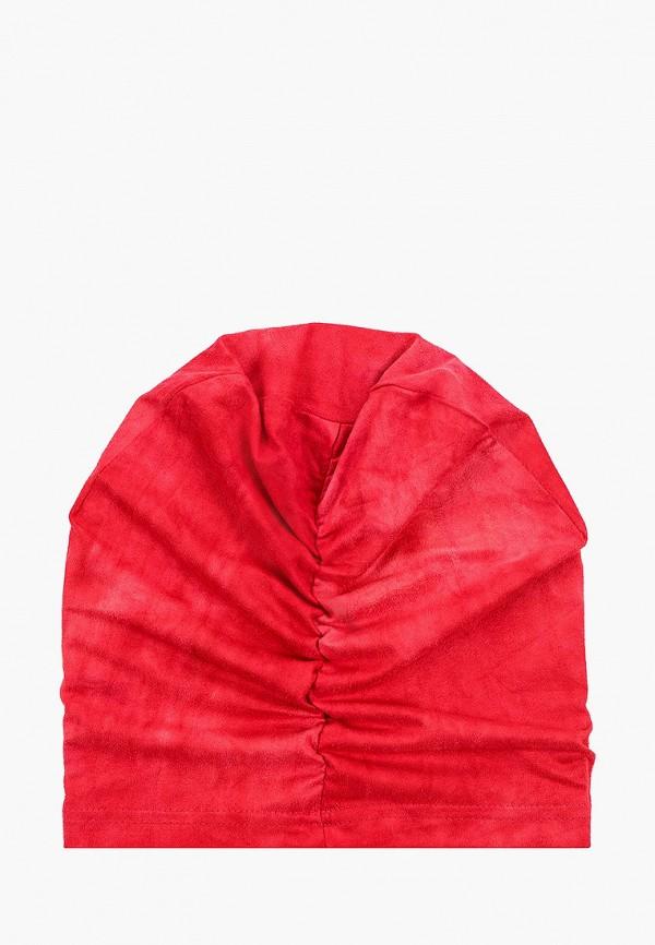 Фото 2 - Женскую шапку Sahera Rahmani красного цвета