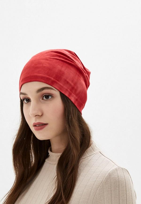 Фото 3 - Женскую шапку Sahera Rahmani красного цвета