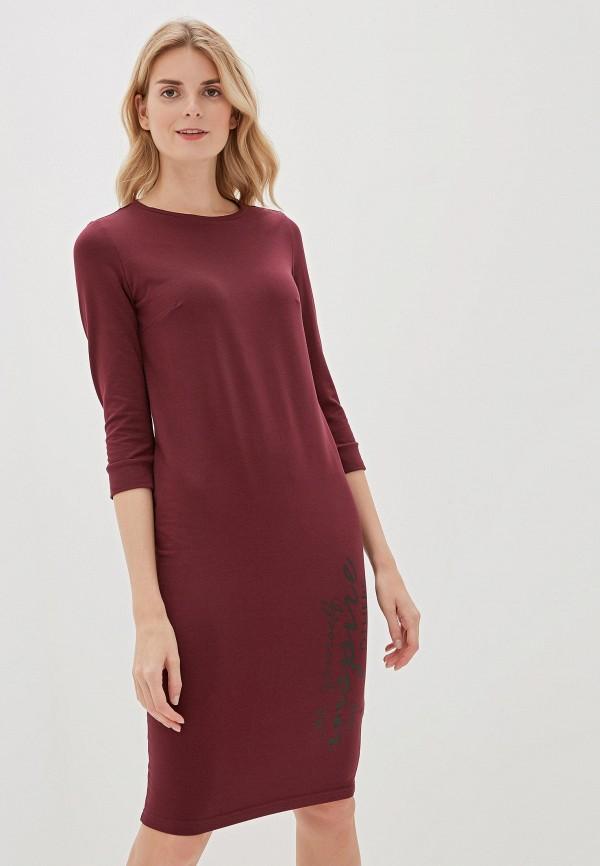 Фото - Платье Vilatte бордового цвета