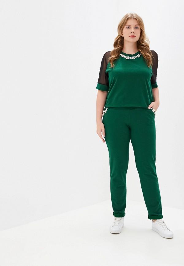 женский костюм prewoman, зеленый