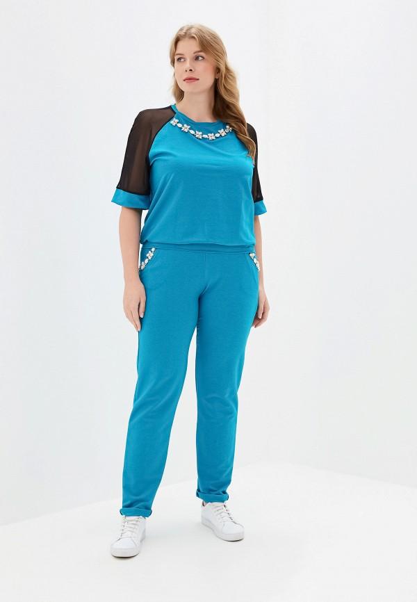 женский костюм prewoman, голубой