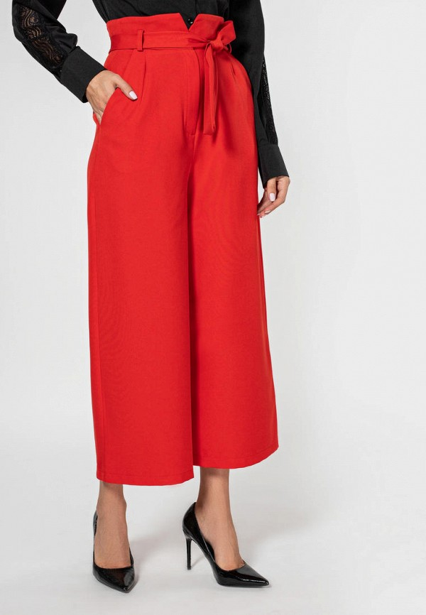 женские брюки itelle, красные