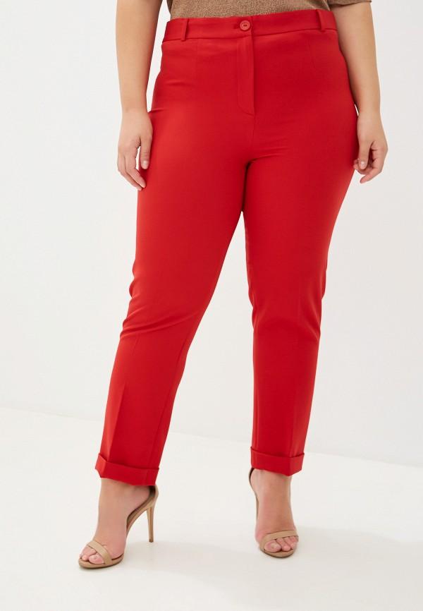 женские брюки lanicka, красные