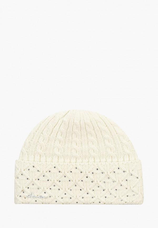 женская шапка herman, белая