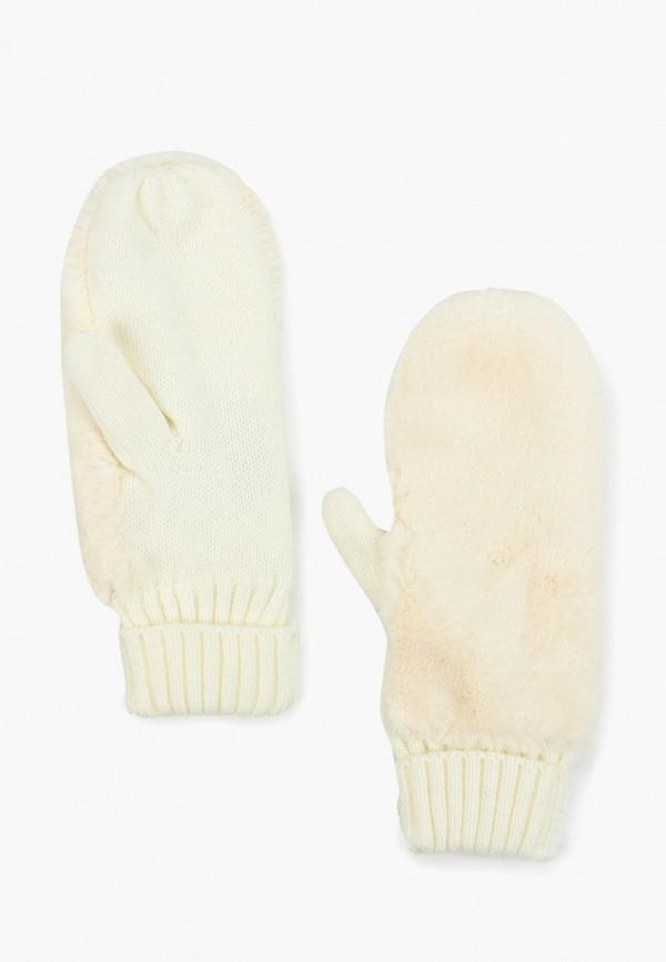 женские варежки herman, белые