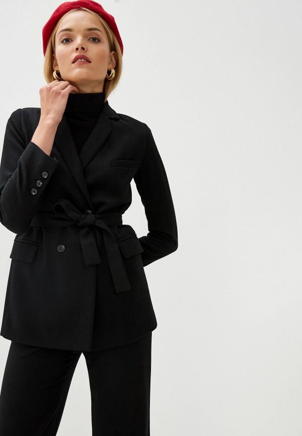 женский пиджак aylin stories, черный
