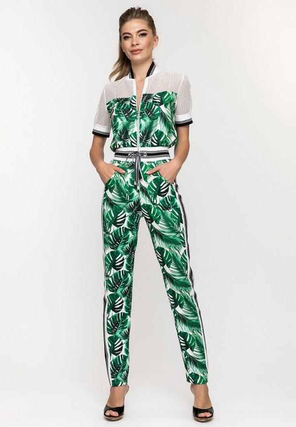 Фото - Женский комбинезон Clever woman studio зеленого цвета