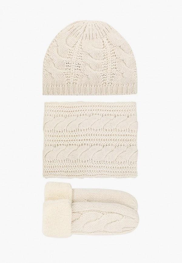женский шарф vitacci, белый