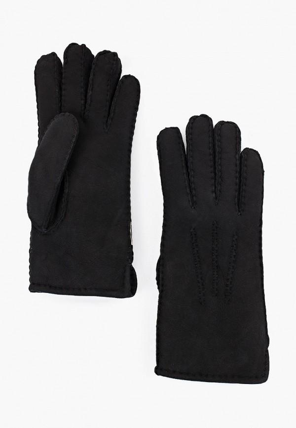 женские кожаные перчатки vitacci, черные