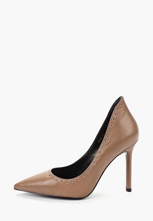 женские туфли vitacci, коричневые