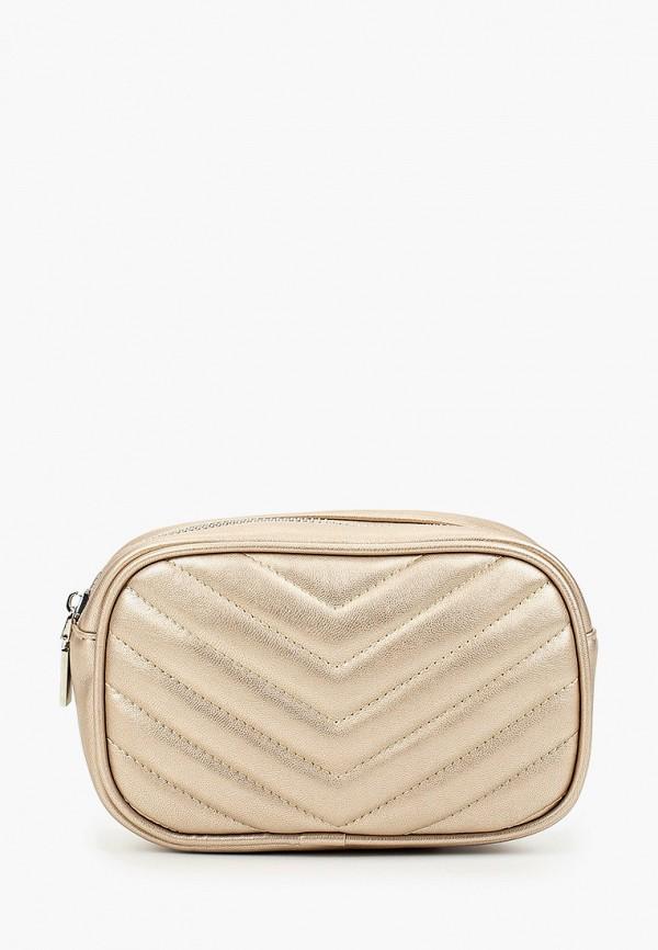 женская сумка vitacci, золотая
