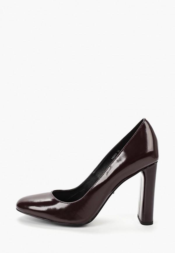 женские туфли vitacci, бордовые