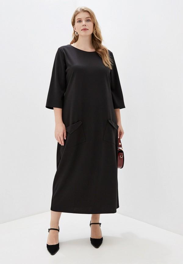 женское платье chic de femme, черное