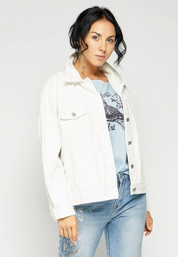 женская куртка bellart, белая