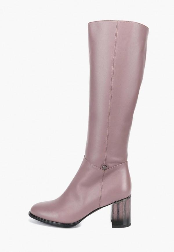 женские сапоги lisette, розовые