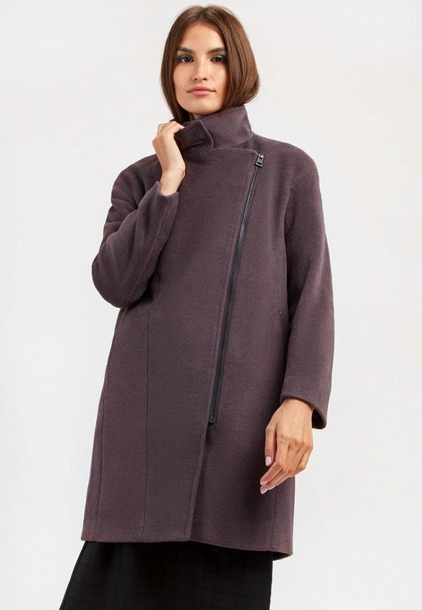 Пальто Finn Flare бордового цвета