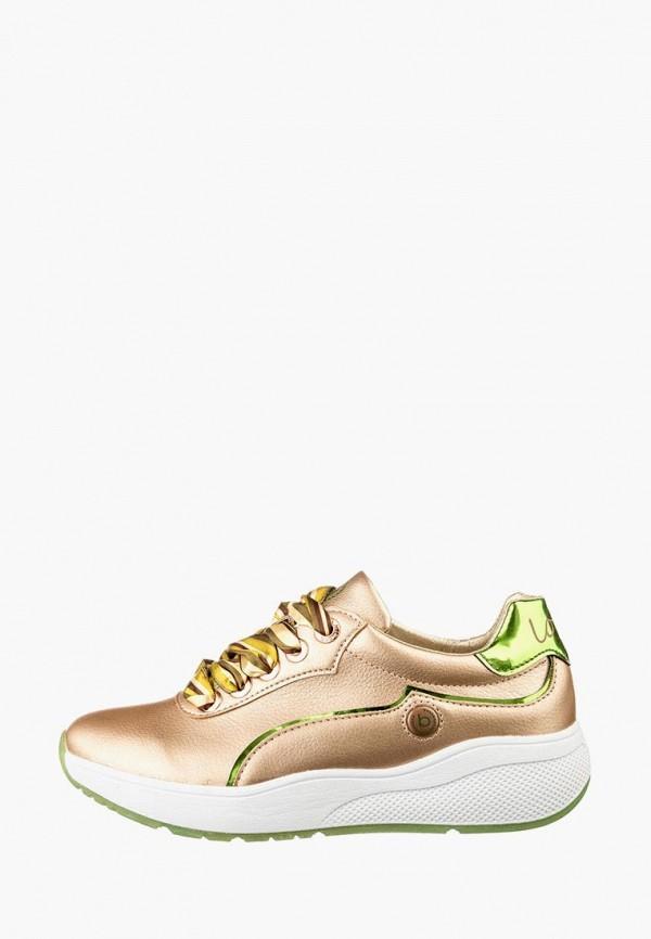 женские кроссовки bugatti, золотые