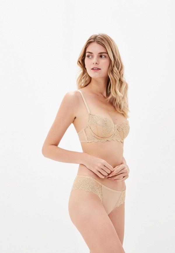 женский бюстгальтер la dea lingerie & homewear, бежевый