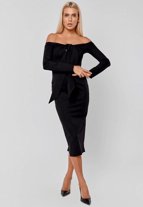 женское вечерние платье elena pokalitsina, черное