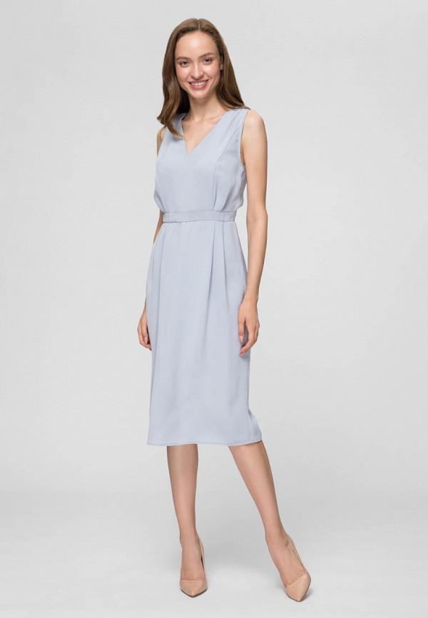 женское повседневные платье minimally, голубое