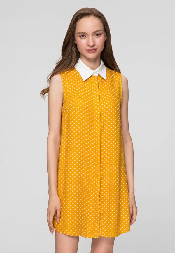 женское платье minimally, желтое