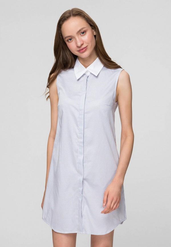 женское платье minimally, голубое
