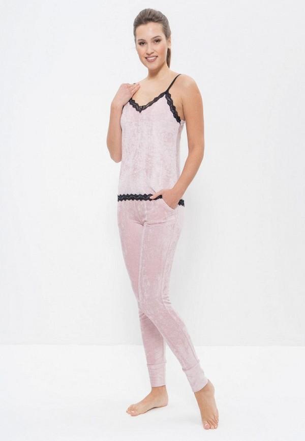 женский костюм cleo, розовый