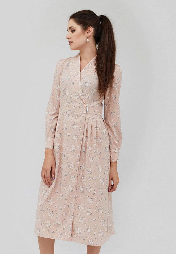 женское платье cardo, бежевое