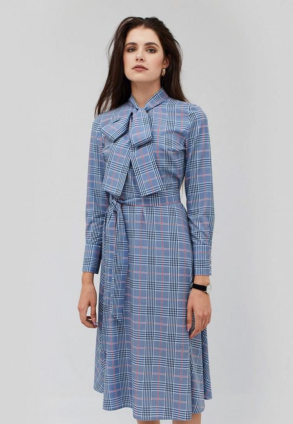 женское платье cardo, голубое