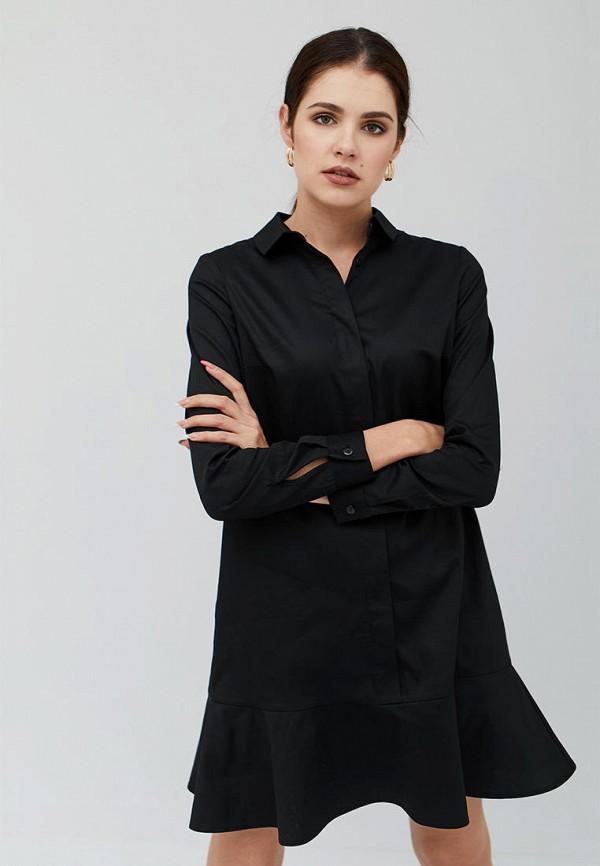 женское платье cardo, черное