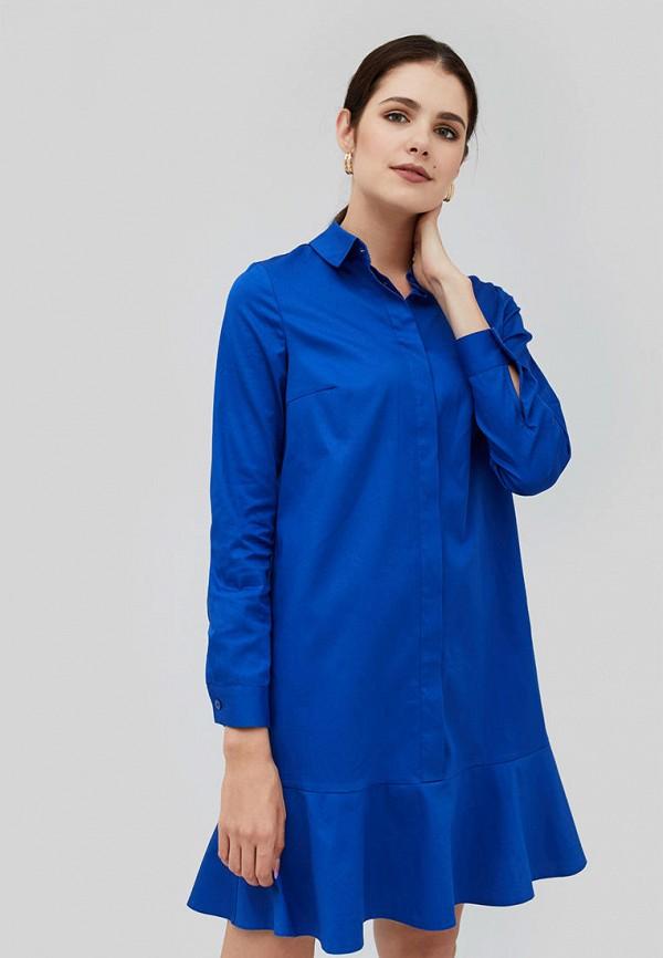 женское платье cardo, синее
