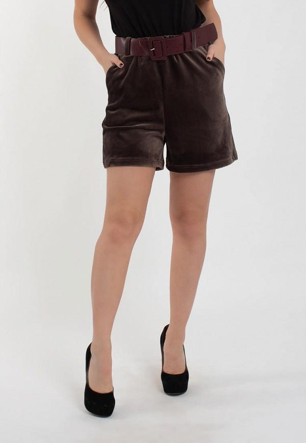 женские повседневные шорты modna anka, коричневые
