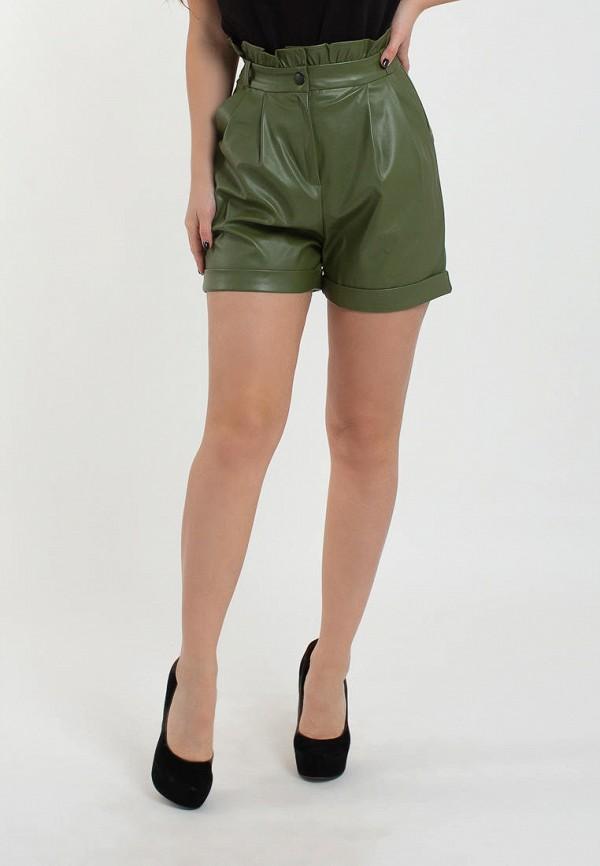 женские повседневные шорты modna anka, хаки