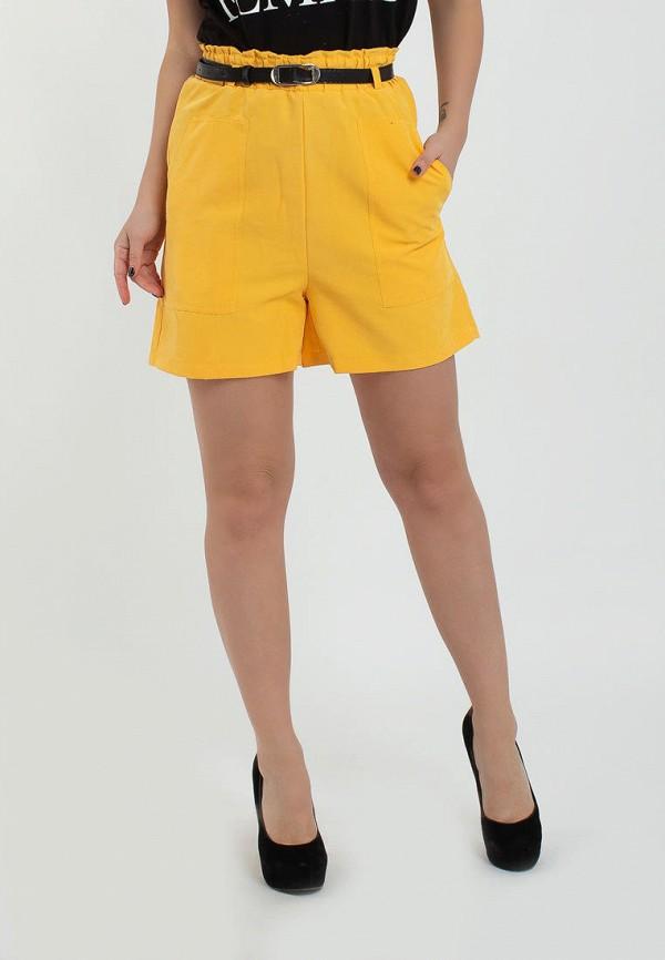 женские повседневные шорты modna anka, желтые