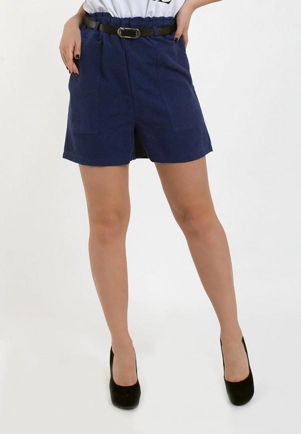 женские повседневные шорты modna anka, синие