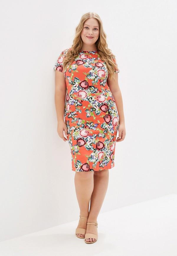 Платье Kis цвет коралловый  Фото 2