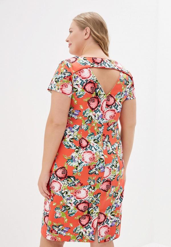 Платье Kis цвет коралловый  Фото 3